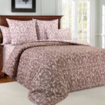 Комплект постельного белья «Вирджиния коричневая» - 1-5-spalnyj