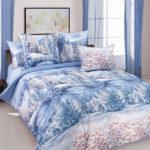 Комплект постельного белья «Зима» - 1-5-spalnyj