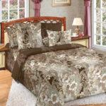 Комплект постельного белья «Вальс коричневый» - 1-5-spalnyj
