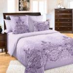 Комплект постельного белья «Загадка фиолетовый» - 1-5-spalnyj