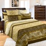 Комплект постельного белья «Золото скифов коричневый» - 1-5-spalnyj
