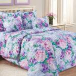 Комплект постельного белья «Летний сад фиолетовый» - 1-5-spalnyj