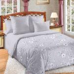 Комплект постельного белья «Камилла серая» - 1-5-spalnyj