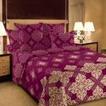 Комплект постельного белья «Мартин бордо» - 1-5-spalnyj