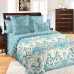 Комплект постельного белья «Шанталь бирюзовый» - 1-5-spalnyj