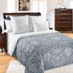 Комплект постельного белья «Белькано серый» - 1-5-spalnyj