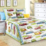 Комплект постельного белья «Гонки» - 1-5-spalnyj