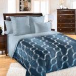 Комплект постельного белья «Мистрал синий» - 1-5-spalnyj