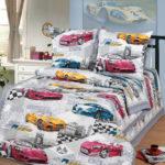 Комплект постельного белья «Форсаж белый» - 1-5-spalnyj