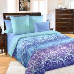 Комплект постельного белья «Фрея фиолетовый» - 1-5-spalnyj