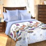 Комплект постельного белья «Галатея голубой» - 1-5-spalnyj