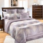 Комплект постельного белья «Спектр коричневый» - 1-5-spalnyj
