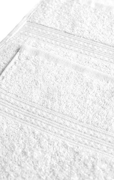 Махровое полотенце цвет Белый