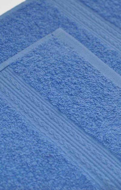 Махровое полотенце цвет Голубой