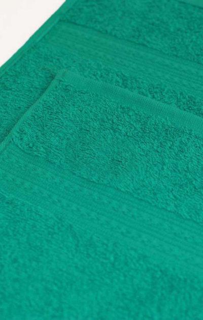 Махровое полотенце цвет Морская волна