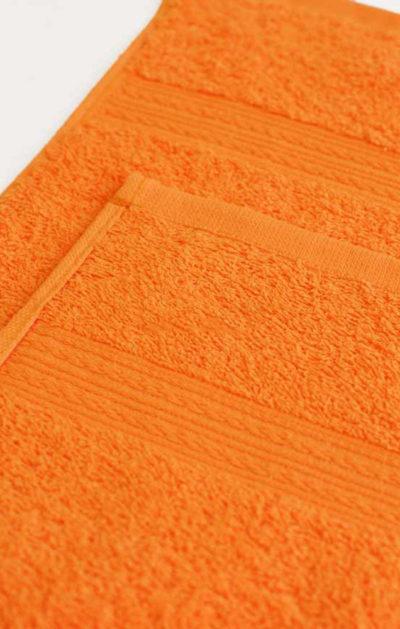 Махровое полотенце цвет Оранжевый