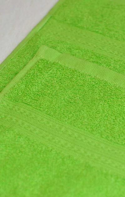 Махровое полотенце цвет Салатовый