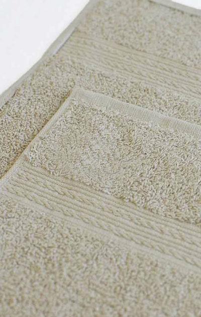Махровое полотенце цвет Светло-серый