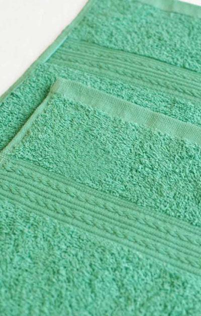 Махровое полотенце цвет Светло-зеленый