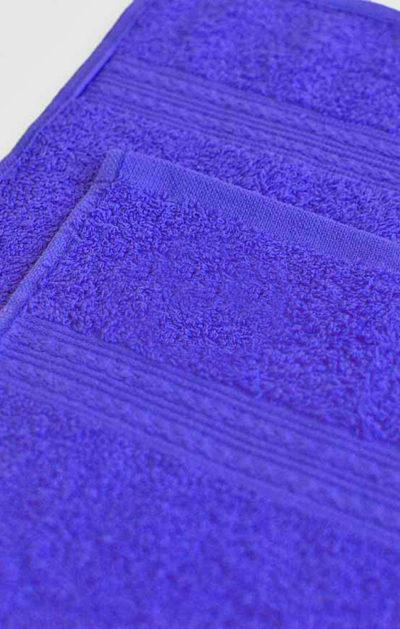 Махровое полотенце цвет Темно-синий
