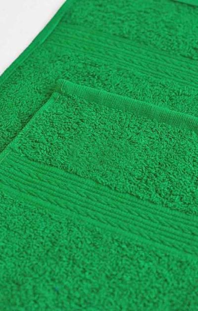 Махровое полотенце цвет Ярко-зеленый