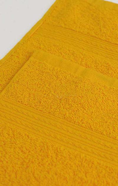 Махровое полотенце цвет Желтый