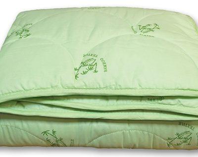 Одеяло бамбук в тике